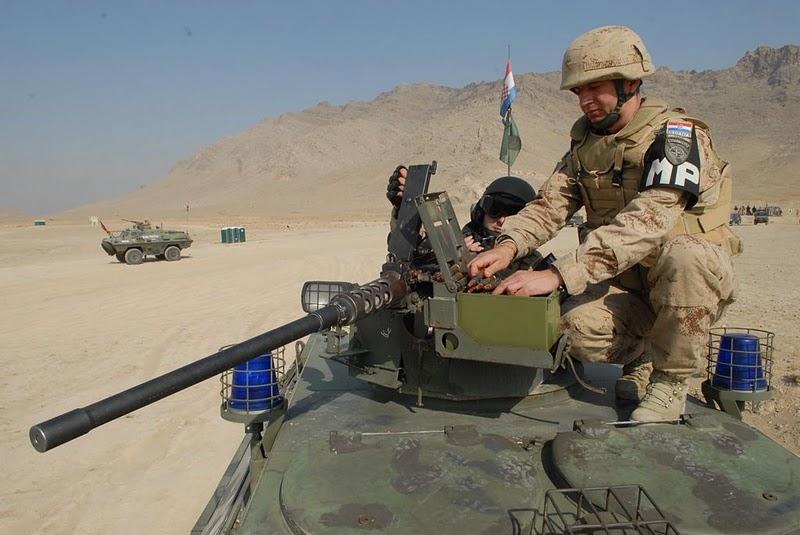 1.VOD Vojne policije otputovao u Afghanistan