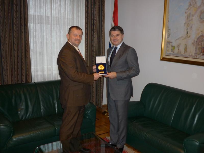 Predsjednik Udruge posjetio veleposlanika RH u Rusiji