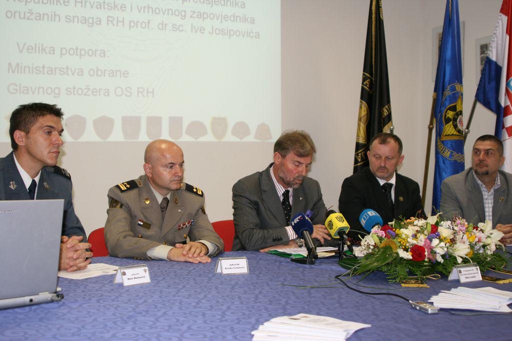 Konferencija za novinare OPO VP