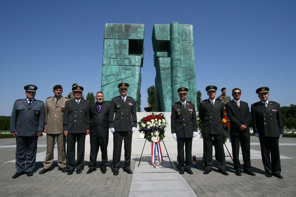 Obilježavanje 20. obljetnice Vojne policije u Vukovaru