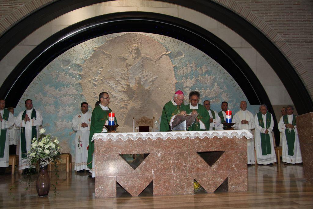 Misno slavlje u crkvi Sv. Mati Slobode