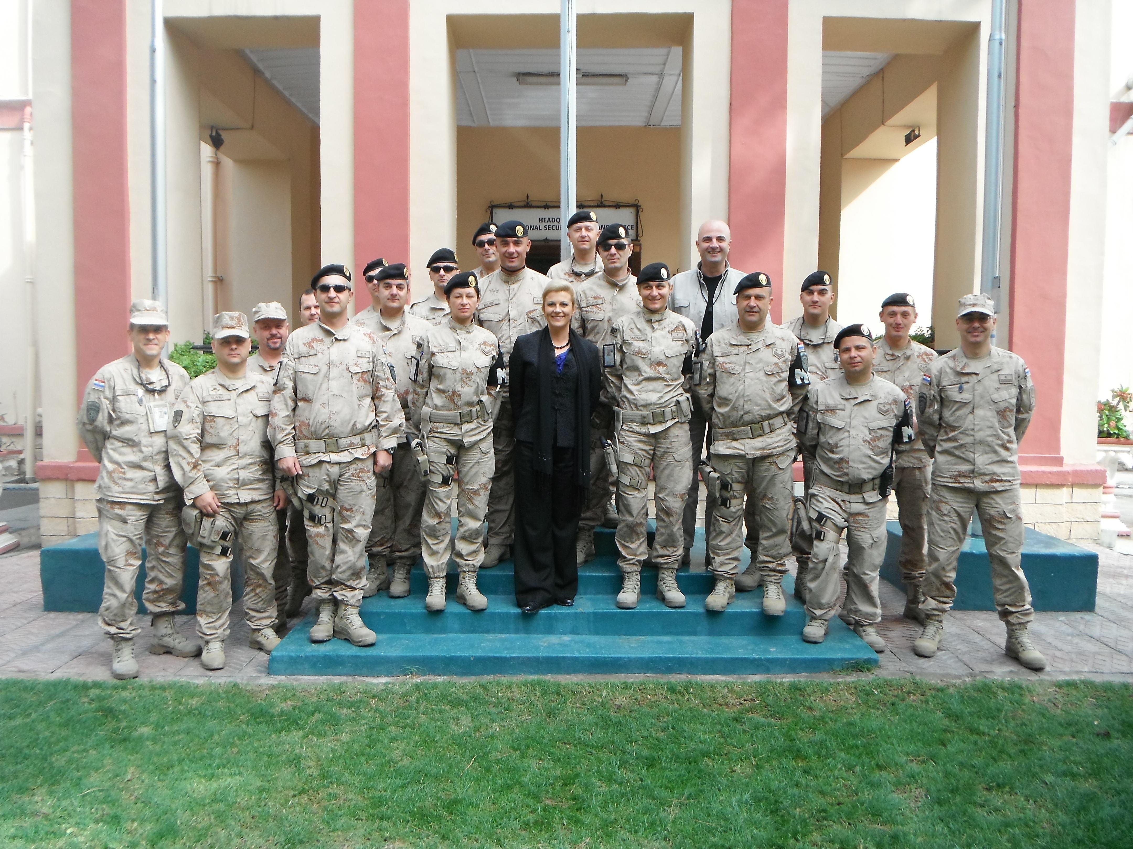 Pomoćnica glavnog tajnika NATO-a za javnu diplomaciju u posjetu Afganistanu i 18. HRVCON-u