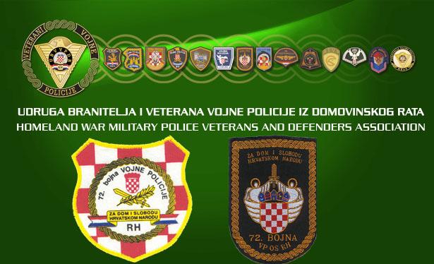 72.bojna vojne policije najava