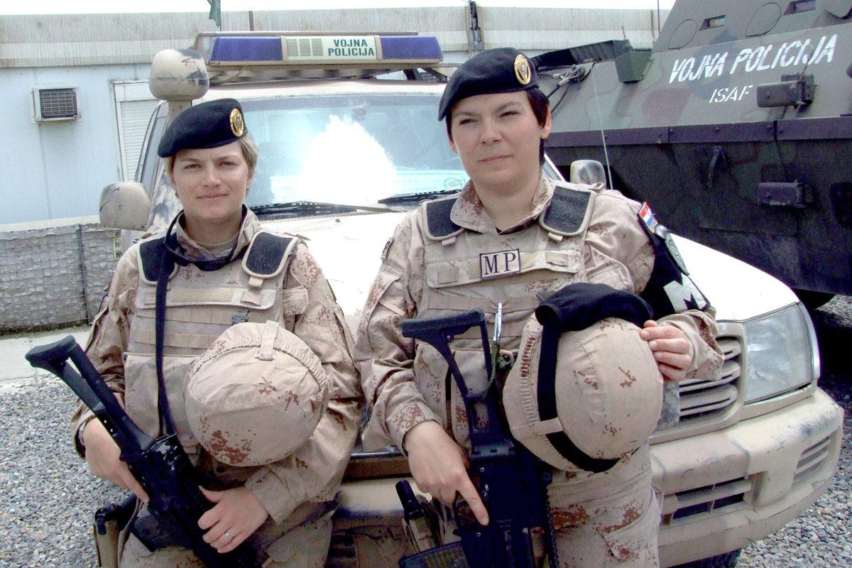 Pripadnice Vojne policije u ISAF-u aktivne u afirmaciji afganistanskih žena