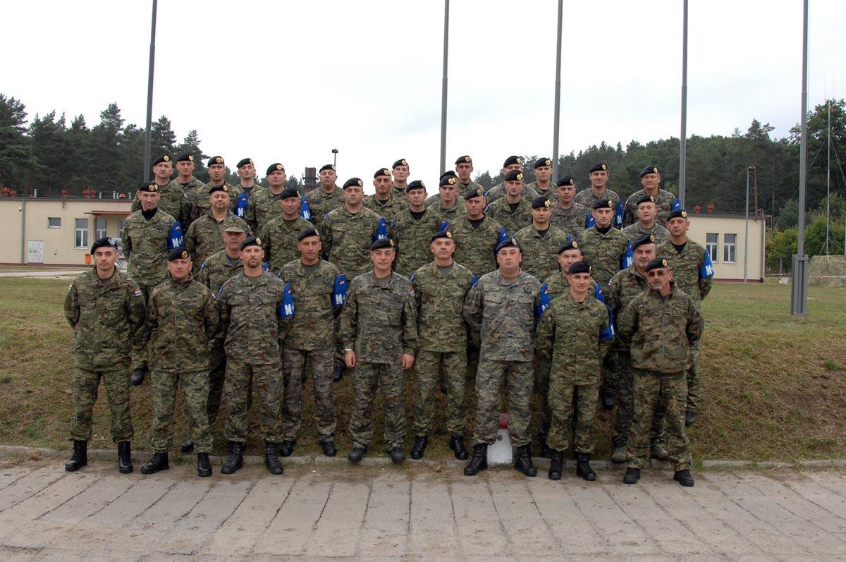Pripadnici Vojne policije OS RH na vježbi SHARP LYNX 12 u Poljskoj