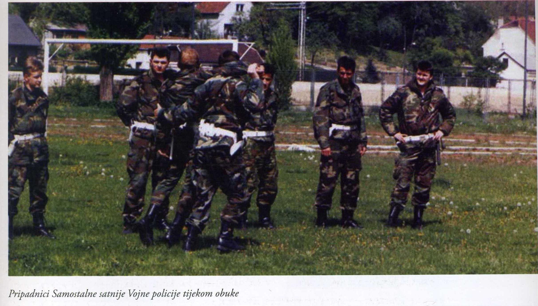 pripadnici ssvp tijekom obuke
