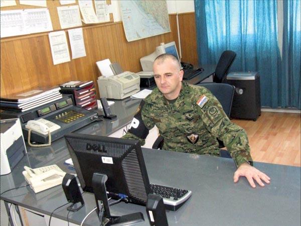 Predstavljamo  Vod Vojne policije Zapovjedne satnije Zapovjedništva HRZ i PZO