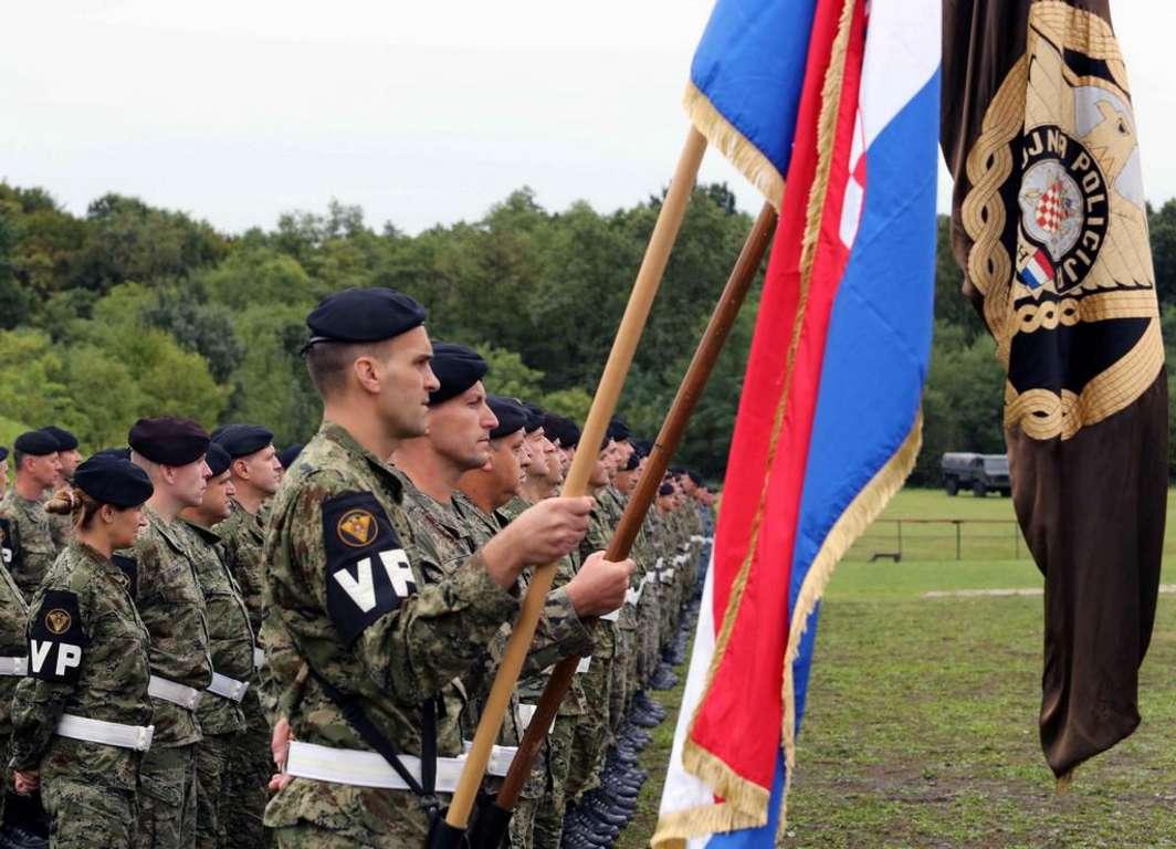 Svečano obilježena 22. obljetnica ustroja Vojne policije OSRH