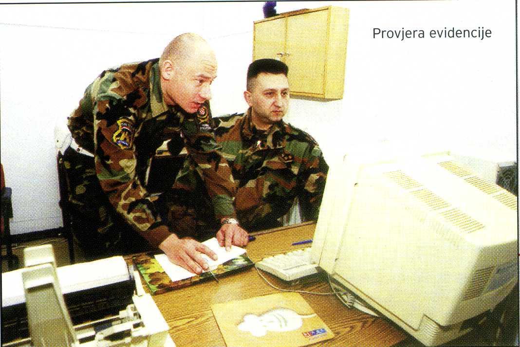 """Prostorije za zadržavanje 67.bojne VP-a u vojarni """"Croatia"""""""