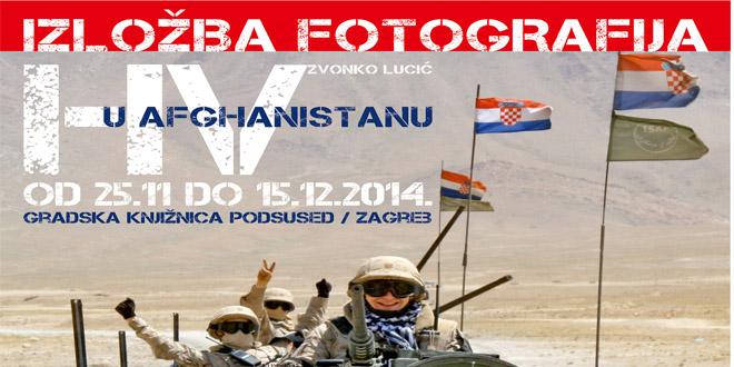 Izložba fotografija – Hrvatska vojska u Afganistanu